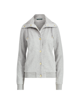 French Terry Funnelneck Jacket by Ralph Lauren