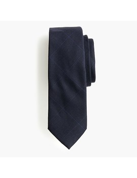 Ludlow Wool Tie In Glen Plaid by J.Crew