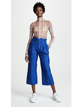 Pleated Trousers by Red Valentino