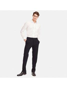 Men Heattech Stretch Slim Fit Pants by Uniqlo