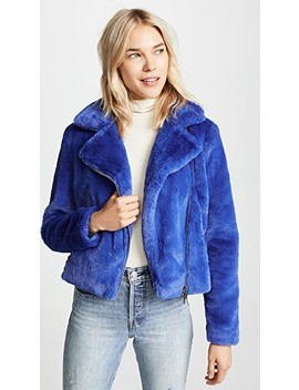 Henderson Faux Fur Jacket by Rebecca Minkoff