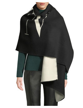 Vltn Two Tone Stole by Valentino