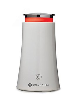 Guru Nanda Essential Oil Diffuser 100ml White Tower Aromatherapy Ultrasonic Diffuser, Cool Mist Humidifier With 7 Color Led Lights + Waterless Auto Shut Off... by Guru Nanda