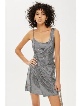 Petite Sequin Mini Dress by Topshop