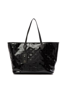 Saffiano Tote Bag With Pouch by Steve Madden