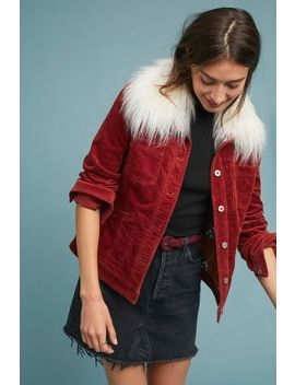 Marnie Corduroy Jacket by Anthropologie