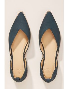 Bill Blass Sybil Leather Flats by Bill Blass