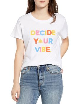 Decide Your Vibe Slouched Tee by Sub Urban Riot