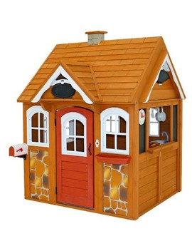 Kid Kraft Stoneycreek Cedar Outdoor Playhouse by Kid Kraft