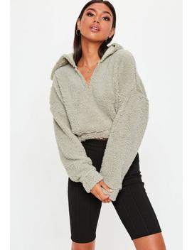 Stone Borg V Front Sweatshirt by Missguided