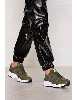 You Camo Do It Sneaker by Nasty Gal