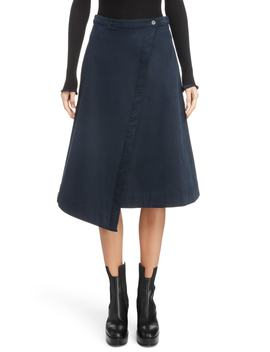 Asymmetrical Wrap Skirt by Acne Studios