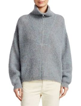 Cyclan Mohair Cowlneck Sweater by Isabel Marant Etoile