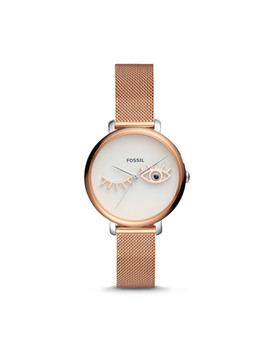 jacqueline-wink-eye-three-hand-rose-gold-tone-stainless-steel-watch by fossil