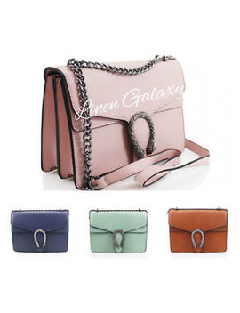 Beautiful Jm852 Chain Strap Bag Flap Closure Ladies Cross Body Shoulder Bags by Ebay Seller