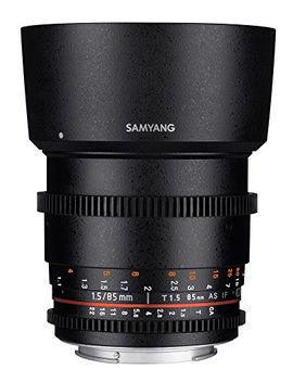 Samyang 85 Mm T1.5 Vdslr Ii Manual Focus Video Lens For Sony E Mount Camera by Samyang