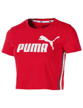 Puma Modern Sport Cropped T Shirt by Converse
