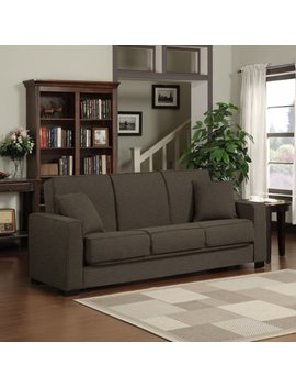Futon Sofa Sleeper Couch Bed Will Give A Refreshing Look To Your Living Room And Converts To A Bed Quickly. This Piece Of Furnit by Portfolio