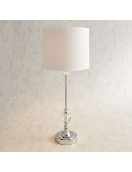 Crystal Buffet Table Lamp by Pier1 Imports