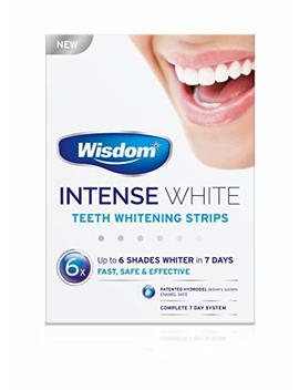 Wisdom Intense White   Teeth Whitening Strips by Wisdom