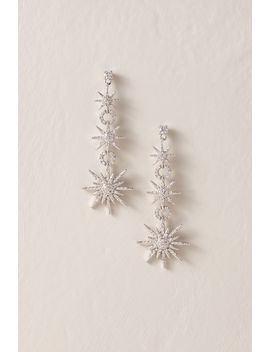 Milky Way Drop Earrings by Bhldn