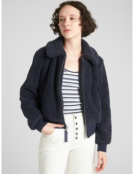 Teddy Bomber Jacket by Gap