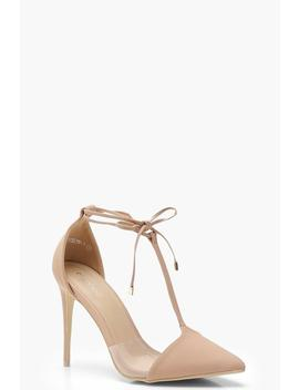 Pointed T Bar Heels by Boohoo