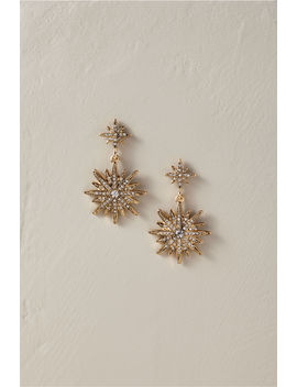Nebula Drop Earrings by Bhldn