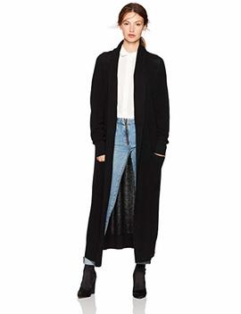 Cable Stitch Women's Open Placket Long Cardigan Sweater by Cable+Stitch