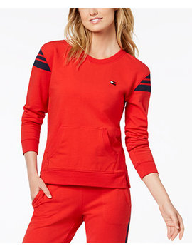 Crew Neck Active Sweatshirt, Created For Macy's by Tommy Hilfiger Sport