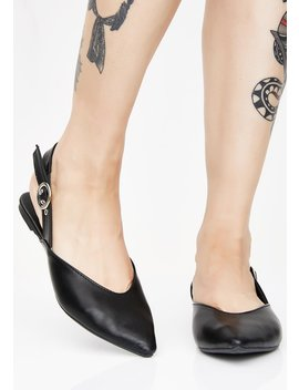 Places To Go Slingback Flats by Qupid