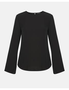 Silk Long Sleeve Top by Theory