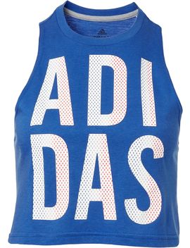 Adidas Women's Americana Crop Tank Top by Adidas