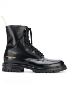 Common Projectslace Up Military Style Bootshome Women Common Projects Shoes Boots by Common Projects