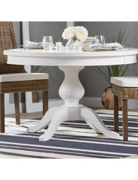 Beachcrest Home Zeinab Round To Oval Extendable Dining Table & Reviews by Beachcrest Home