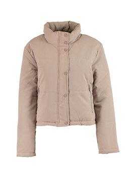 Beige Padded Jacket by Blfd
