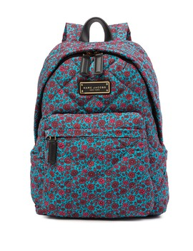 Quilted Flower Heads Backpack by Marc Jacobs