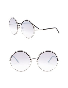 56mm Round Sunglasses by Marc Jacobs