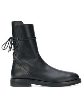 Ann Demeulemeesterlace Up Fitted Bootshome Men Ann Demeulemeester Shoes Boots by Ann Demeulemeester