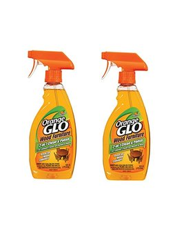 Orange Glo 2 In 1 Clean & Polish Wood Furniture Spray   16 Oz   2 Pk by Orange Glo