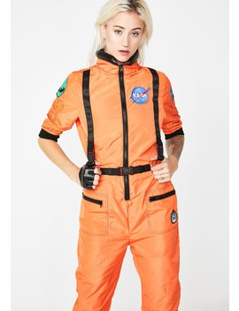 Nasa Ty Flight Suit Costume by Dolls Kill