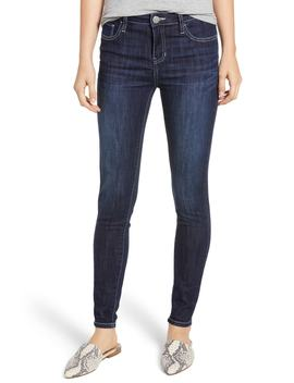 Contrast Stitch Skinny Jeans by Prosperity Denim