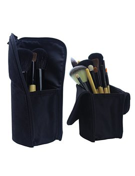 Gourdoll Makeup Brush Bag Dual Use Brush Bucket Case Organizer Artist With Professional Travelling Pen Pencil Holder by Gourdoll