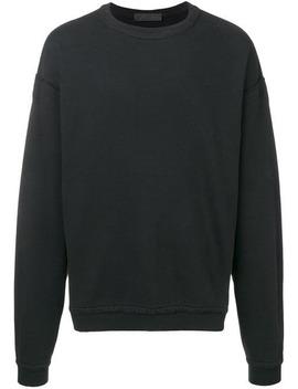 Haider Ackermanndistressed Trim Sweatshirthome Men Haider Ackermann Clothing Sweatshirts by Haider Ackermann