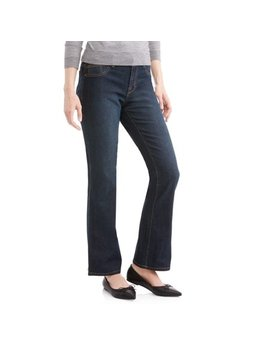 """Women's Ultimate Stretch Bootcut 31"""" Inseam Jeans by A3 Apparel"""
