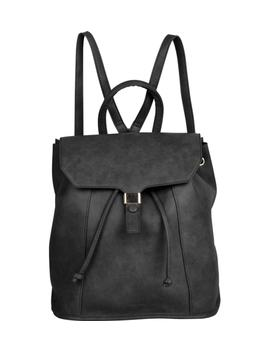 Foxy Vegan Leather Flap Backpack by Urban Originals