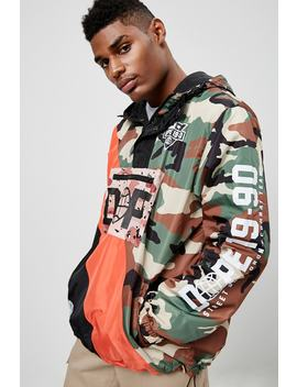 Dope Camo Graphic Anorak by Forever 21