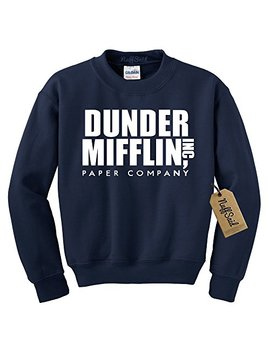 Nuff Said Dunder Mifflin Crewneck Sweatshirt   Sweater   Premium Quality Tv Shirt Sweatshirt by Nuff Said