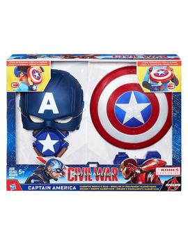 Hasbro Marvel Captain America Shield Role Play Set by Kohl's