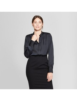 Women's Long Sleeve Button Up Blouse   Prologue™ by Prologue™